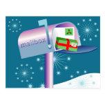 Boîte aux lettres carte postale