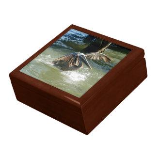 Boîte-cadeau d'amerrissage grande boîte à bijoux carrée