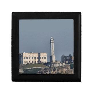 Boîte-cadeau de plan rapproché d'Alcatraz Boîte À Bijoux