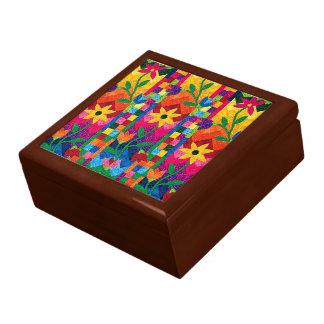 Boîte-cadeau d'édredon de tournesol boîte à souvenirs