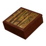 Boîte-cadeau en bambou de ciel boîtes à bijoux