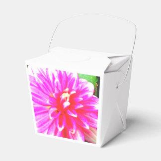 Boîte-cadeau florale boites faveurs de mariage