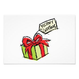 Boîte-cadeau mignonne faite sur commande avec la photos sur toile