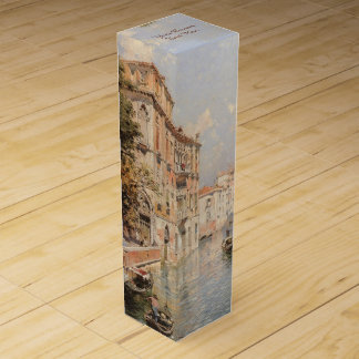 Boite Cadeau Pour Bouteille De Vin Boîte-cadeau faite sur commande de vin de Venise