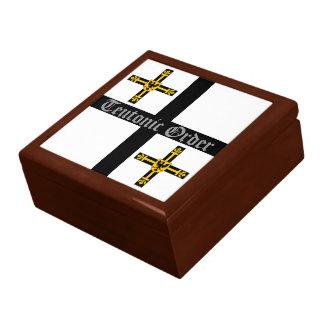 Boîte-cadeau Teutonic d'ordre Grande Boîte À Bijoux Carrée