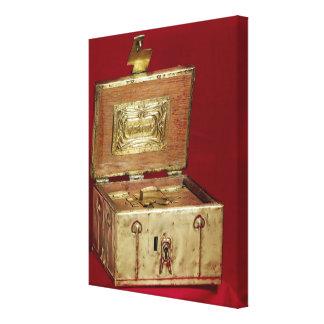 Boîte de bijou toiles