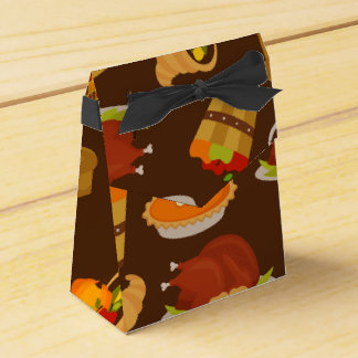 Boîte de cadeau de dîner de dinde de Thanksgiving Ballotins