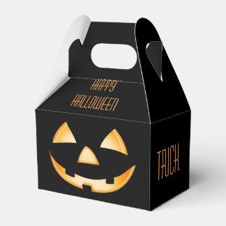Boîte de cadeau de Halloween - des bonbons ou un Ballotins