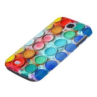 Boîte de couleur de peinture d amusement