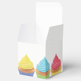 Boîte de faveur de partie de petit gâteau ballotins