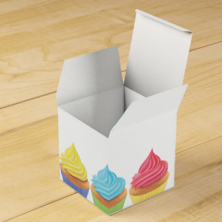 Boîte de faveur de partie de petit gâteau boite de faveur
