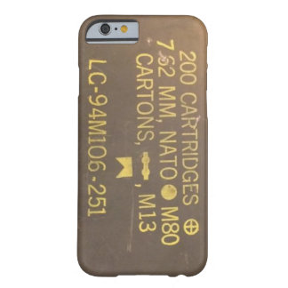 Boîte de munitions coque iPhone 6 barely there