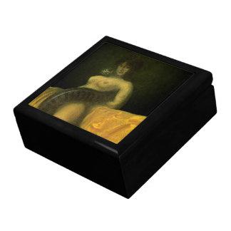 Boîte de rangement de luxe de SnakeGrl Boîte À Souvenirs