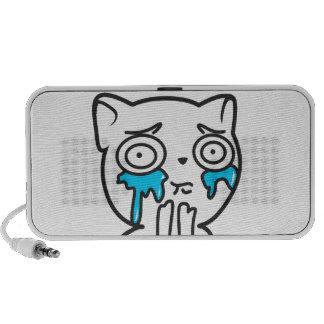 Boîte de son du chaton haut-parleurs iPod