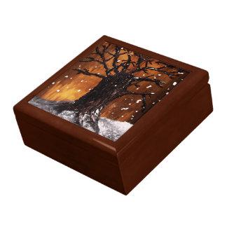 Boîte de souvenir de Wintertree 3 Boîte À Bijoux