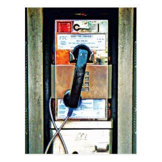 Boîte de téléphone cartes postales