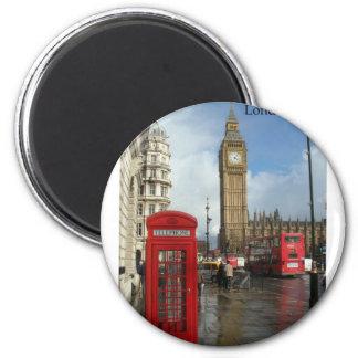 Boîte de téléphone de Londres Big Ben (par St.K) Aimants