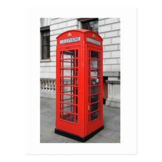 Boîte de téléphone de Londres Cartes Postales