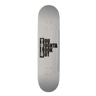 Boîte de verticale de YOLO Plateau De Skateboard
