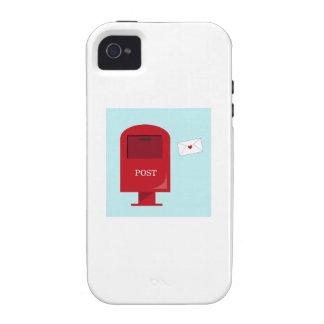 Boîte postale coque iPhone 4 de Case-Mate