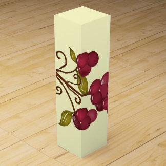 Boite Pour Bouteille De Vin Boîte-cadeau de vin de raisins d'amusement