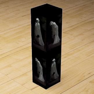 Boite Pour Bouteille De Vin Fantômes et boîte gothiques à vin de goules
