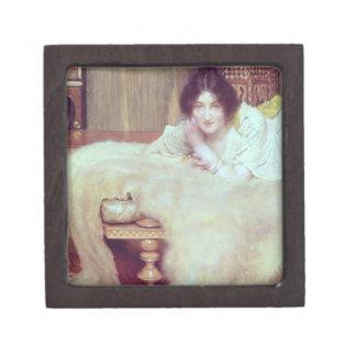 Boîtes À Babioles De Première Qualité Alma-Tadema   un auditeur : La couverture d'ours,