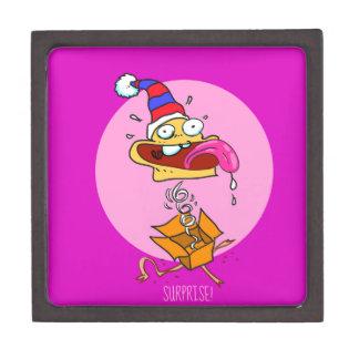 Boîtes À Babioles De Première Qualité bande dessinée drôle de clown de surprise