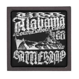 Boîtes À Babioles De Première Qualité Boîte-cadeau en bois magnétique de l'Alabama de