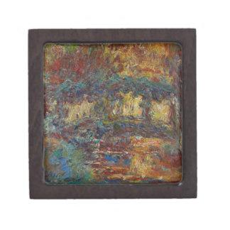 Boîtes À Babioles De Première Qualité Claude Monet | le pont japonais