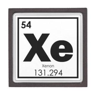 Boîtes À Babioles De Première Qualité GE de formule de chimie de symbole d'élément