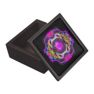 Boîtes À Babioles De Première Qualité Oeil pourpre de Saturn