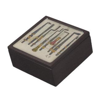 Boîtes À Babioles De Première Qualité Outils antiques