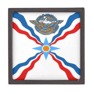 Boîtes À Bijoux De Première Qualité Assyrien-Drapeau