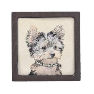 Boîtes À Bijoux De Première Qualité Chiot de Yorkshire Terrier