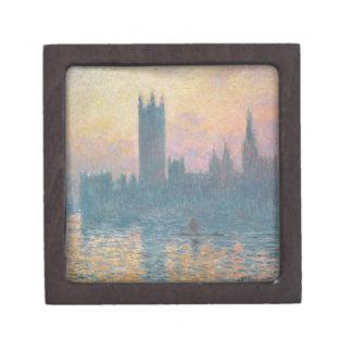 Boîtes À Bijoux De Première Qualité Claude Monet | les Chambres du Parlement, coucher
