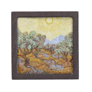 Boîtes À Bijoux De Première Qualité Oliviers de Vincent van Gogh |, 1889