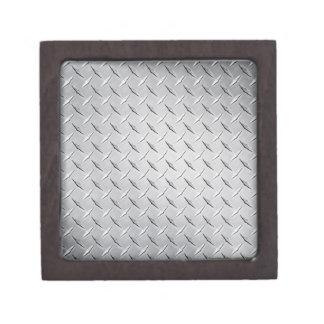 Boîtes À Bijoux De Première Qualité Plaque de métal de diamant