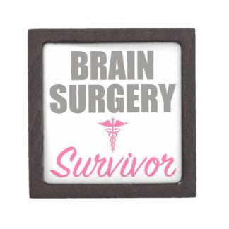 Boîtes À Bijoux De Première Qualité Survivant de chirurgie cérébrale