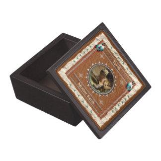Boîtes À Bijoux De Première Qualité Tortue - boîte-cadeau en bois de Terre
