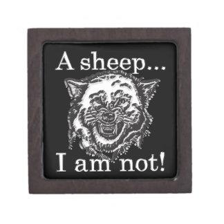 Boîtes À Bijoux De Première Qualité Un mouton… Je ne suis pas