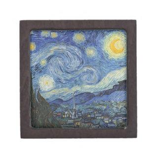 Boîtes À Bijoux De Première Qualité Vincent van Gogh | la nuit étoilée, juin 1889