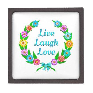 Boîtes À Bijoux De Première Qualité Vivent l'amour de rire