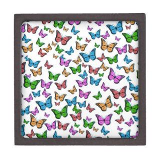 Boîtes À Souvenirs De Première Qualité Conception de motif de papillons