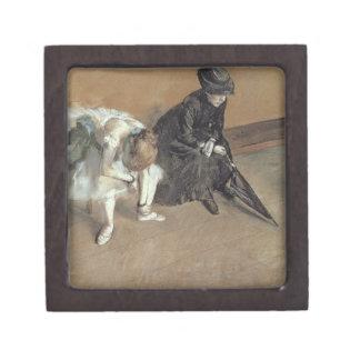 Boîtes À Souvenirs De Première Qualité Edgar Degas | attendant, c.1882