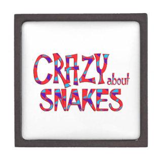Boîtes À Souvenirs De Première Qualité Fou au sujet des serpents
