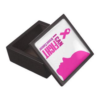 Boîtes À Souvenirs De Première Qualité Je peux combattre des femmes de soutien de cancer