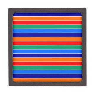 Boîtes À Souvenirs De Première Qualité lignes ci de rayures de drapeau de St Petersburg