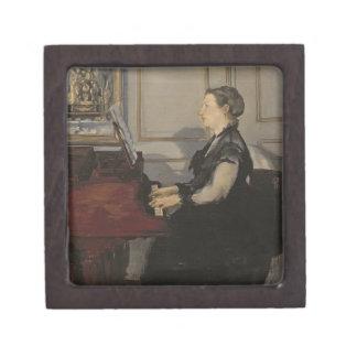 Boîtes À Souvenirs De Première Qualité Madame Manet au piano, 1868 de Manet |