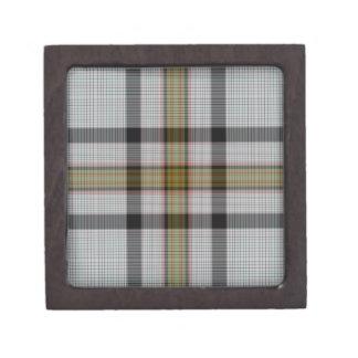 Boîtes À Souvenirs De Première Qualité Plaid de tartan